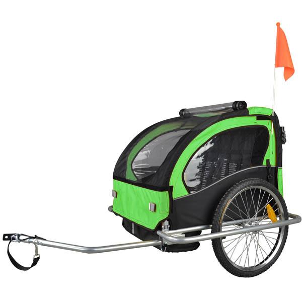 Kinderfahrradanhanger Fahrradanhanger Jogger 2in1 Anhanger